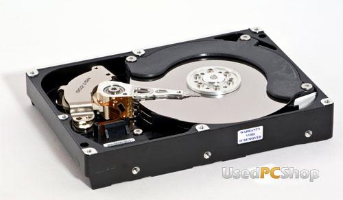 """City PC 3.5"""" Festplatte 160 GB, SATA, gebraucht, 12 Monate Gewährleistung"""
